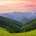 Carpathians ridges