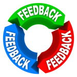 Feedback Cycle of Input Opinions Reviews Comments